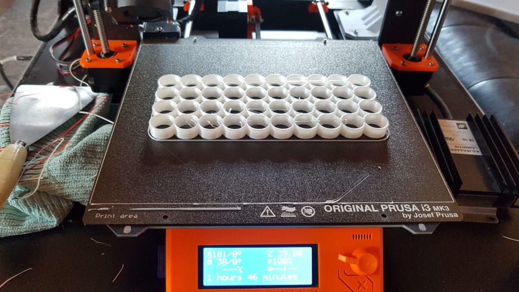 3D Tulostettava Sähkömaastolauta akkupaketin osa
