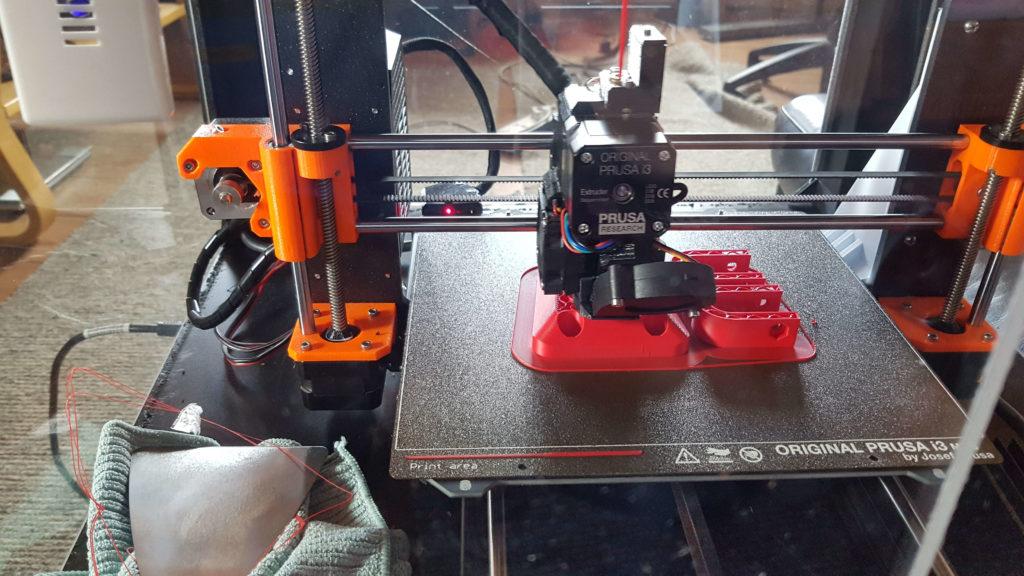 3D Tulostettu Lampun teline