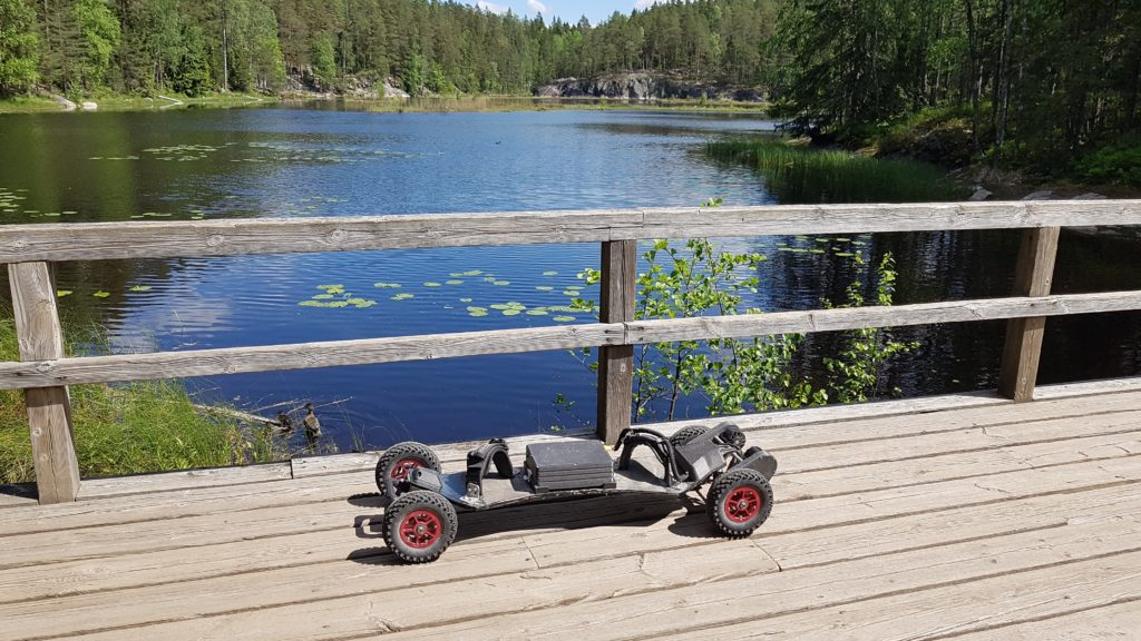 Electric mountainboard