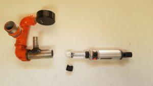 Paineilmasylinterin tiivisteen vaihto, 3d tulostettu tiiviste