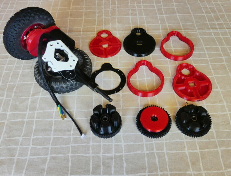 3D tulostettuja osia